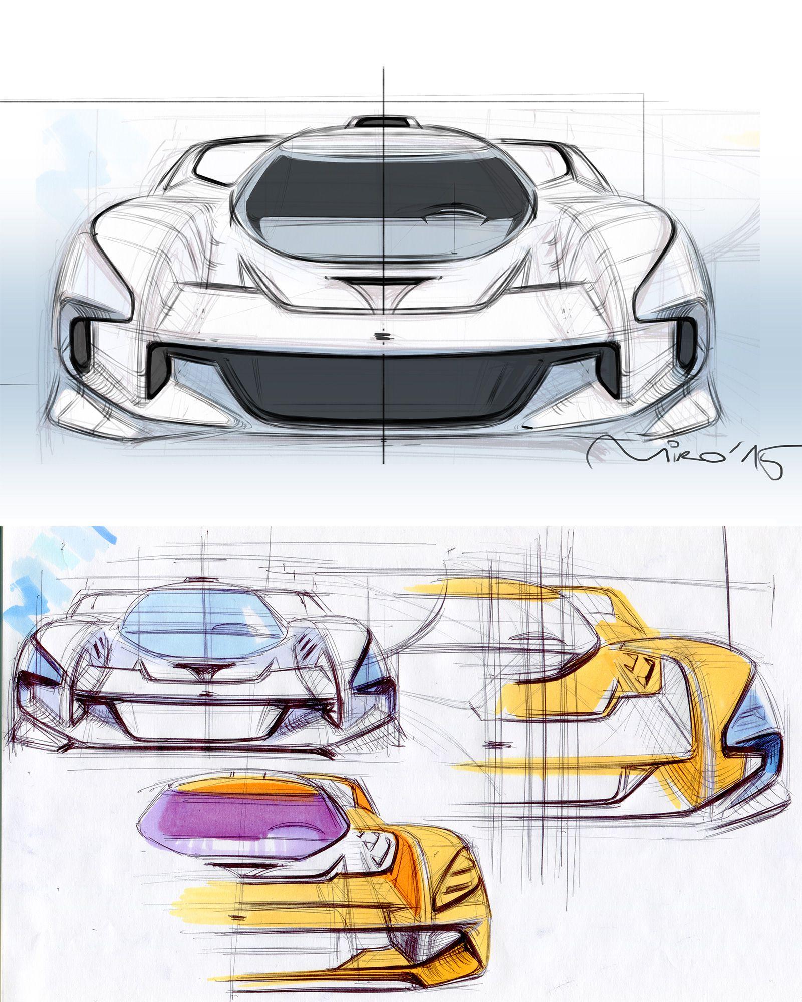 Miroslav Dimitrov Car Design Car Design Sketch Car Front