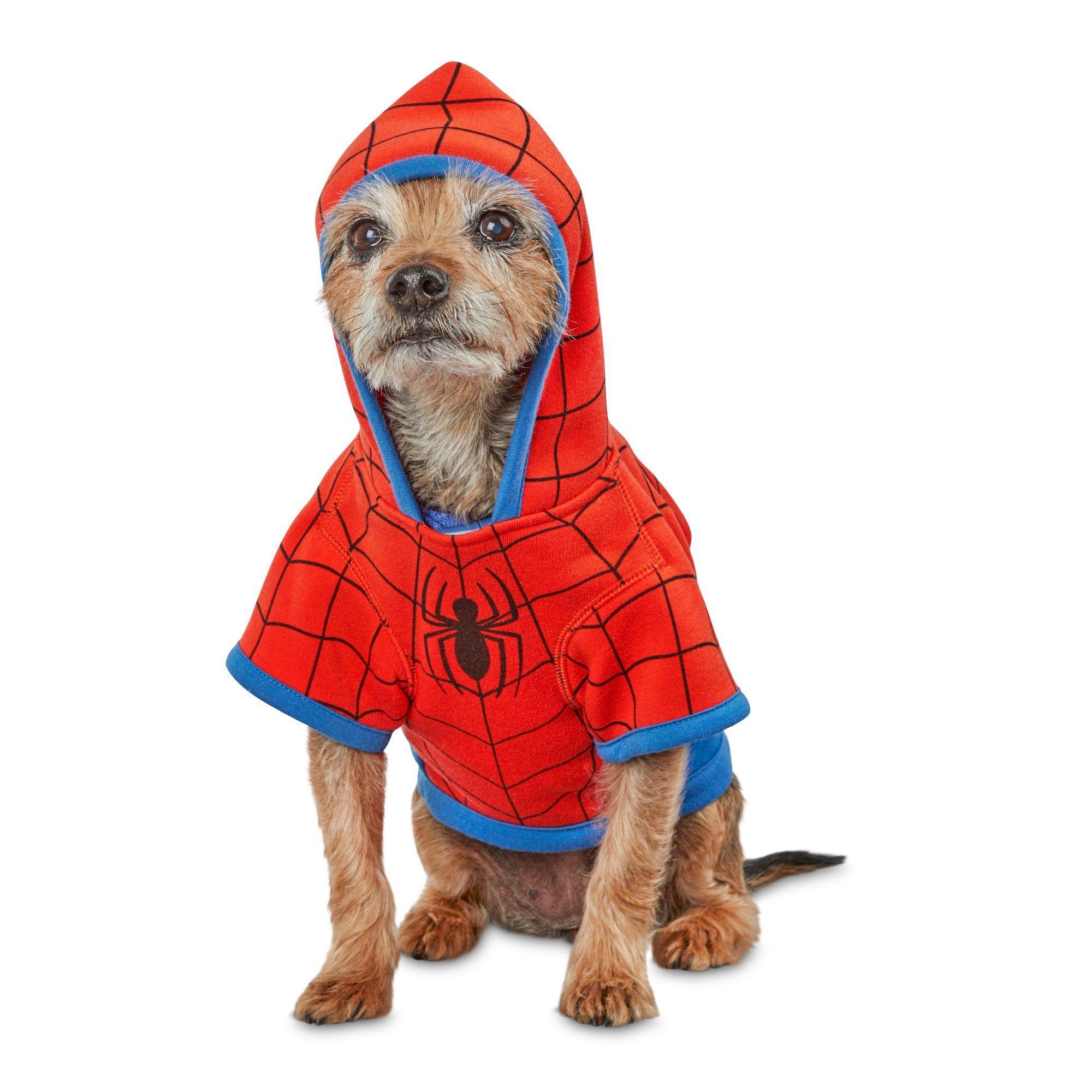 Marvel Spider Man Dog Hoodie Small Man Dog Dog Hoodie Spiderman