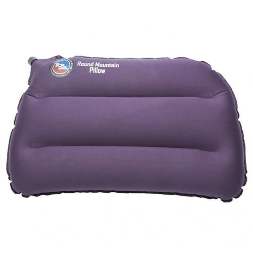 Round Mountain Pillow - Eggplant