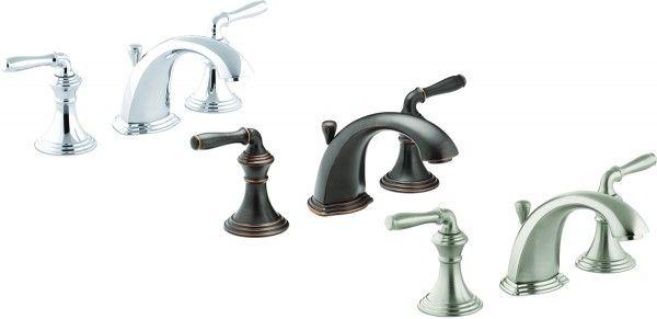 Kohler Bathroom Faucets Devonshire Series KCP Polished - Kohler devonshire bathroom faucet brushed nickel