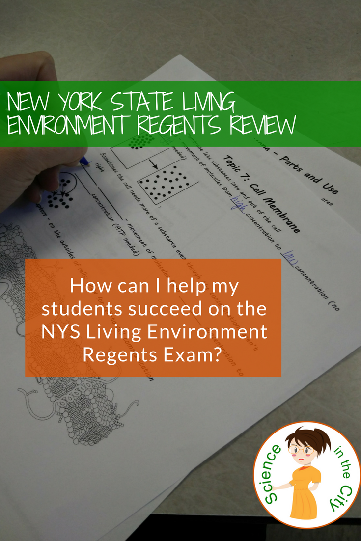 Living Environment Regents Review (New York State Biology ...