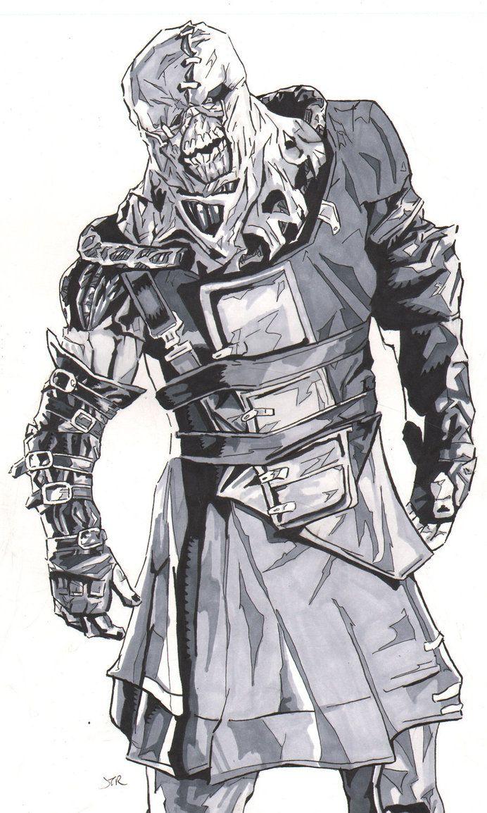 Resident Evil Nemesis By Monstercola On Deviantart Resident Evil