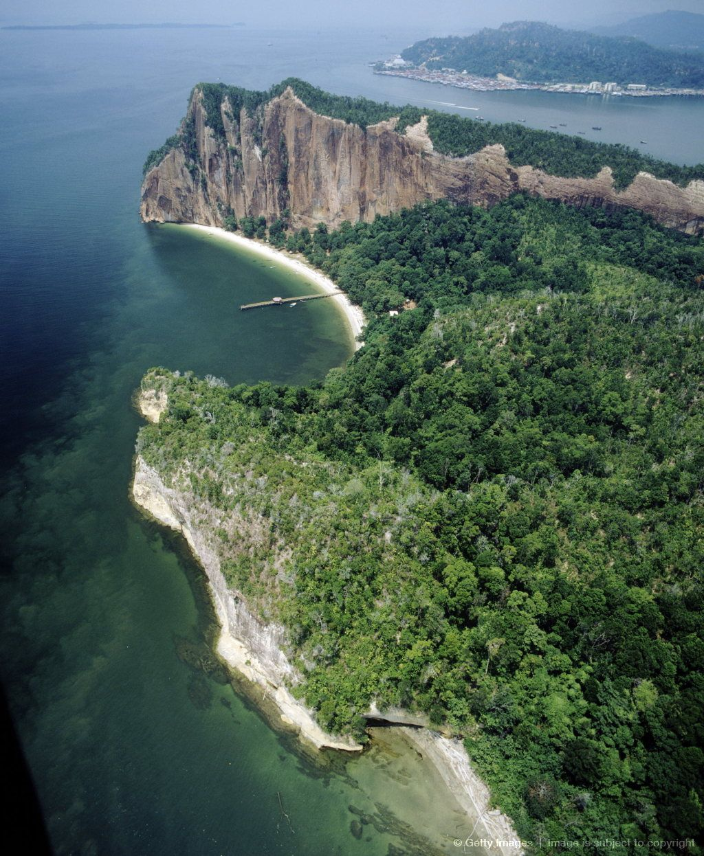 Borneo Island: Aerial View Of Sabah, Island Of Borneo, Malaysia