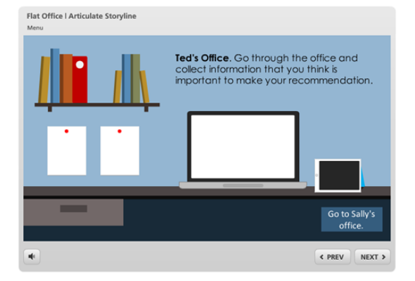 Interaction elearning template flat office for articulate interaction elearning template flat office for articulate storyline toneelgroepblik Images