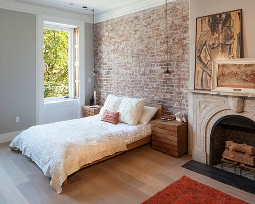 Beautiful Brick Wallpaper Bedroom Ideas Delightful White Brick Wallpaper Bedroom Ideas Part 16