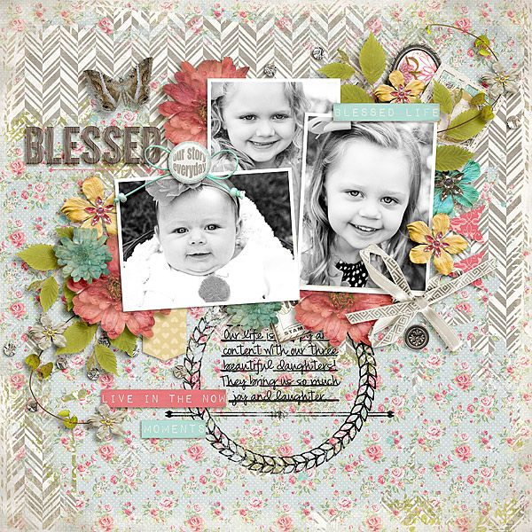 Blessed Scrapbook Inspiration Pinterest Scrapbook Scrapbook