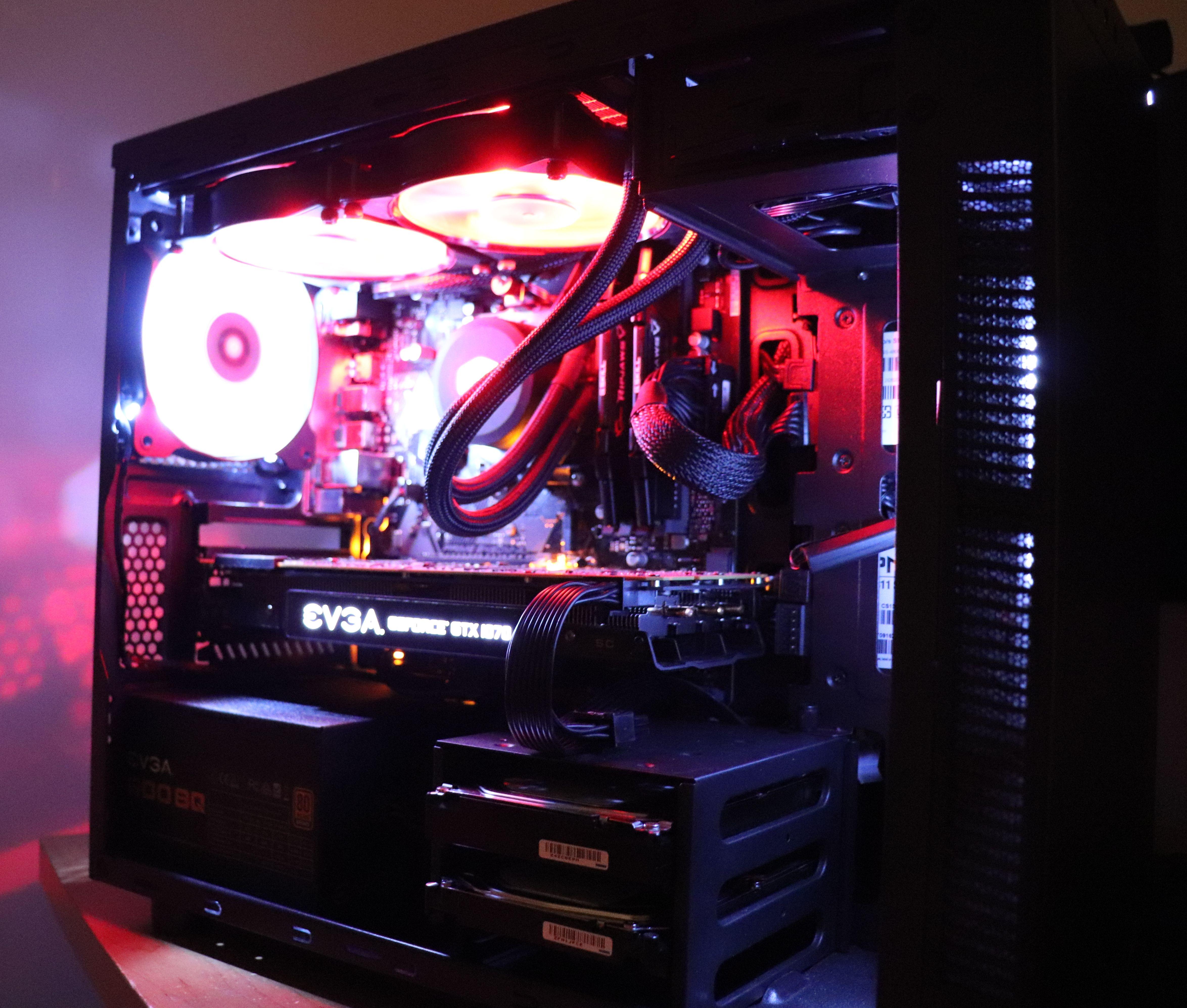 Linux Pc Build Building Setup Water Cooling