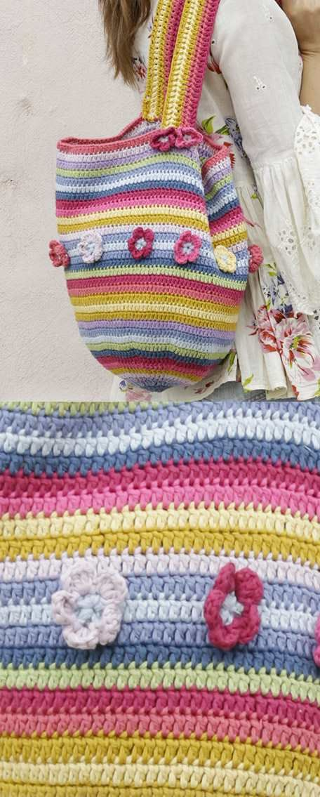 Juanita Free Crochet Bag Pattern Yarn Stuff Pinterest Free