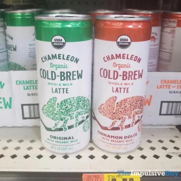 Chameleon Organic Cold Brew Whole Milk Latte (Original And