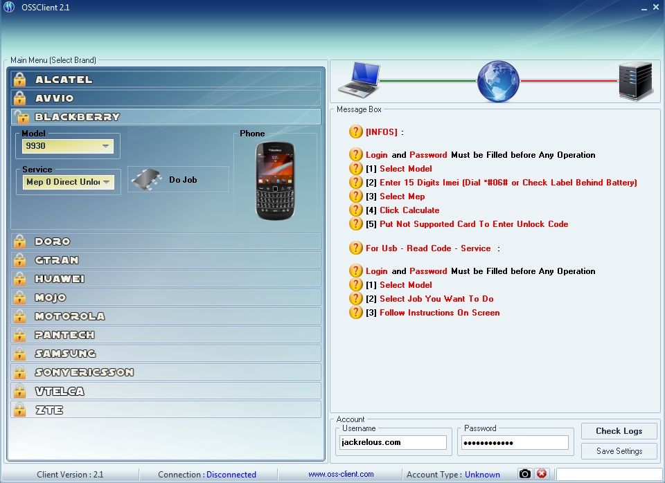 Oss Client Online Service Software No Need Box Or Dongle Share
