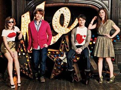 Great outfits, love Rupert's cardi