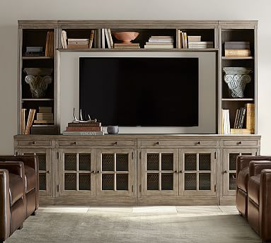 center tv stand reclaimed wood by diy home projects pinterest tv stands and reclaimed wood media console