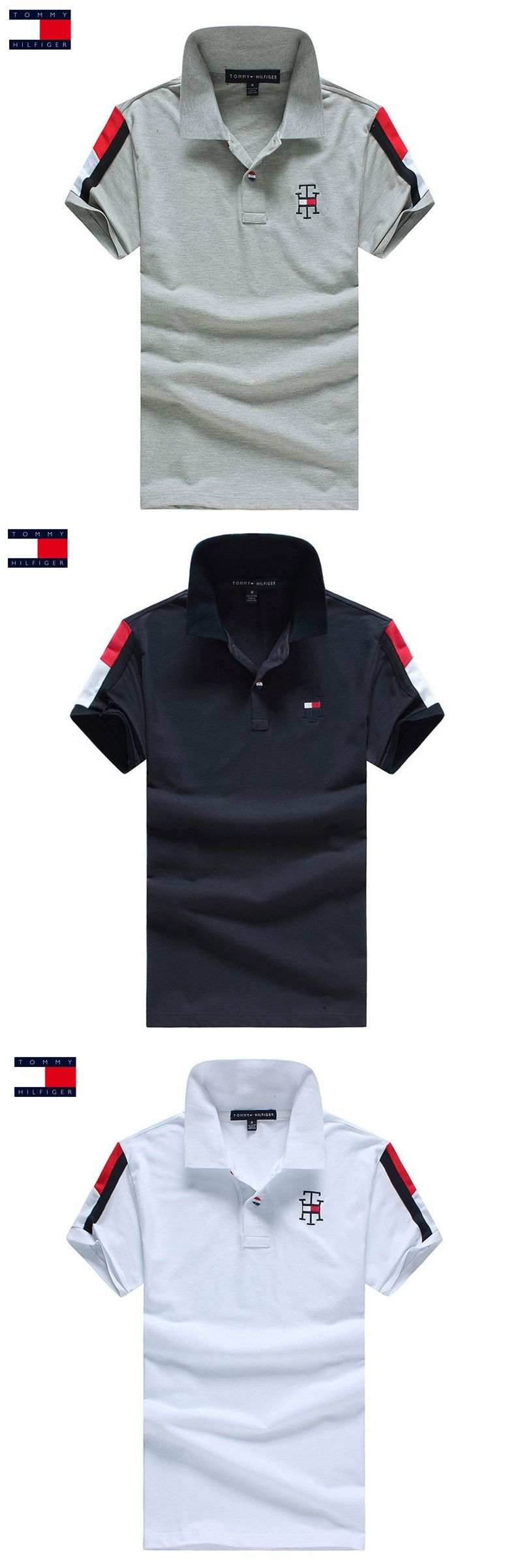 TOMMY HILFIGER Hot Sale Polo Shirts Men Spring Summer 3