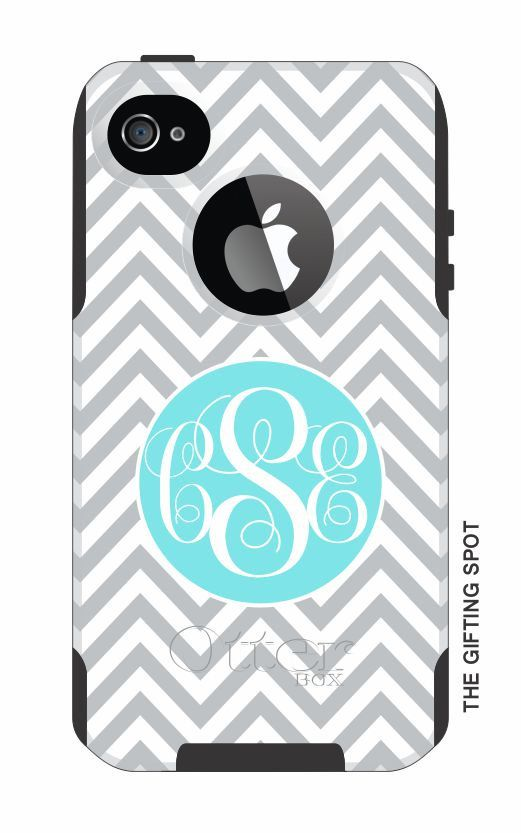 quality design 0f7d9 97032 Monogrammed OtterBox Commuter Personalized Phone Case - iPhone 4/4S ...