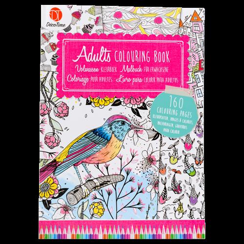 EUR 1.99 - decotime volwassen kleurboek 160 platen - 100 Nieuwste  - Action Nederland B.V.