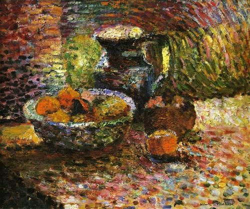 Still Life with Pitcher and Fruit - Henri Matisse
