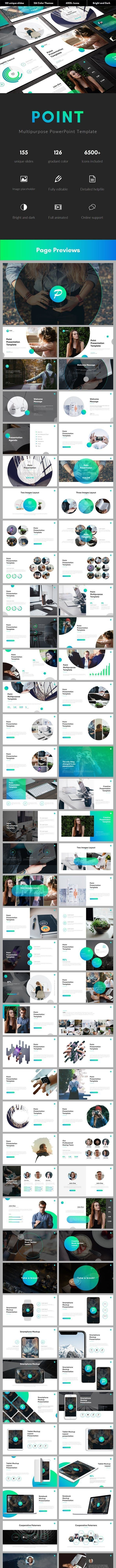 Point Multipurpose PowerPoint Template