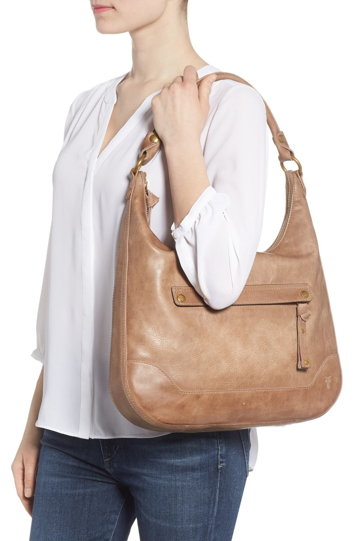 c01954f340d Frye | Melissa Large Leather Hobo | Gift Ideas & Things I Want ...