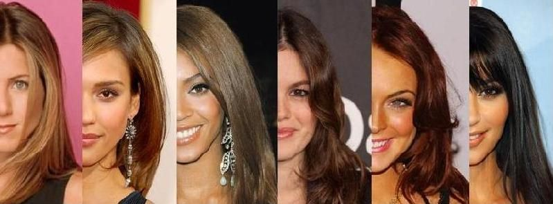 skin tone and hair color - olive | Great hair | Pinterest | Hair ...
