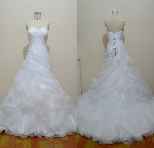 Cheap dress organza, Buy Quality dress up wedding dresses directly from China dress requirement Suppliers: High Quality Bridal Dresses Organza China Manufacturer White And Black Wedding Dresses 2015white and black w