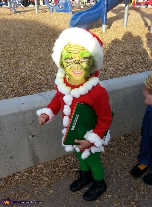 mr grinch costume - Baby Grinch Halloween Costume