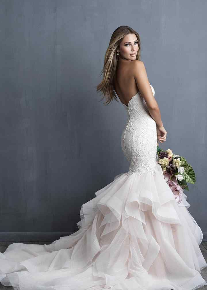 Wedding Dress out of Allure Couture - C491