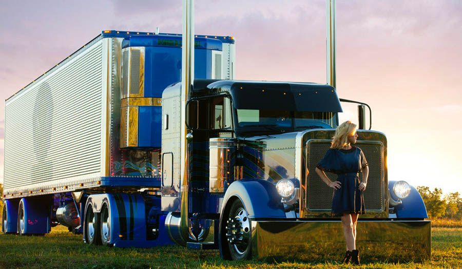 45 best Girls and Big Trucks: What a Perfect Combo images