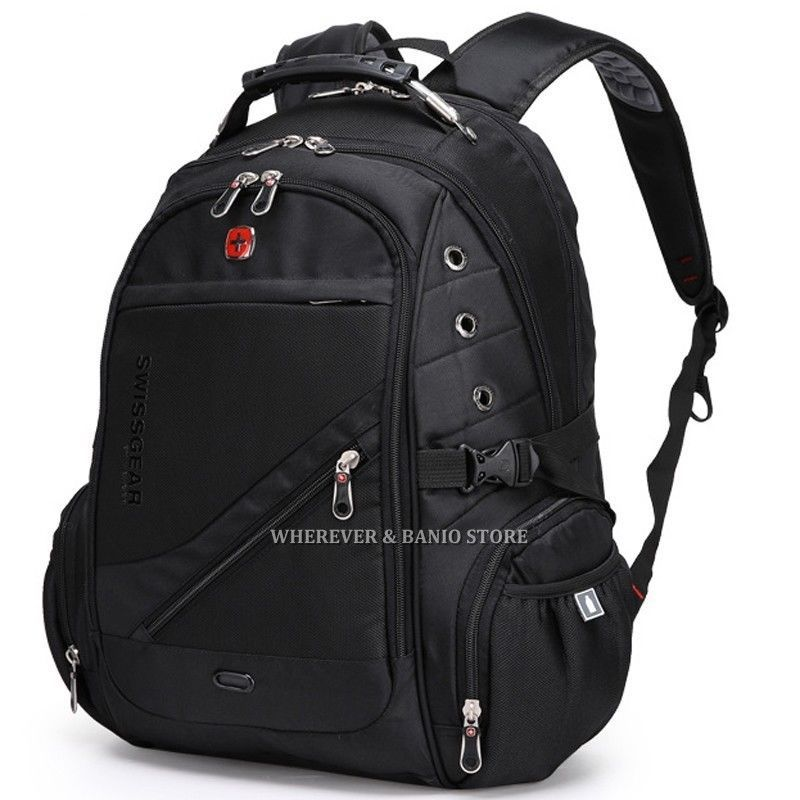 82c311fc315 Swiss Gear Men Backpack Outdoor Travel Bag Student ScanSmart Laptop ...