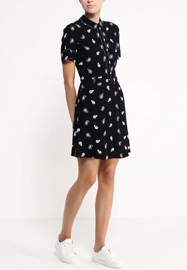 4d697c4580cc Black Rose Print Choker Neck Dress | Clothes | Choker neck dress, Neck  choker, Dresses
