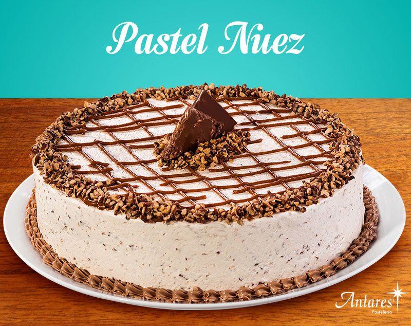 Pastel Nuez Pan De Vainilla Humectado Con Jarabe Natural Y