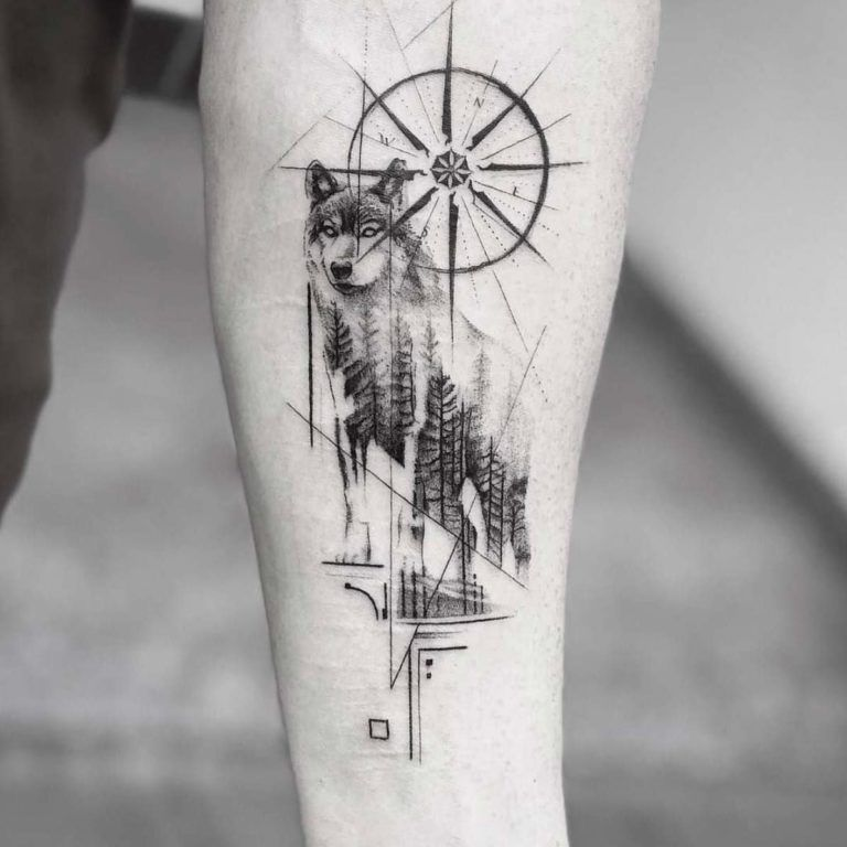 60 Amazing Wolf Tattoos - The Best You'll Ever See - Page 6 of 6 - Straight Blasted