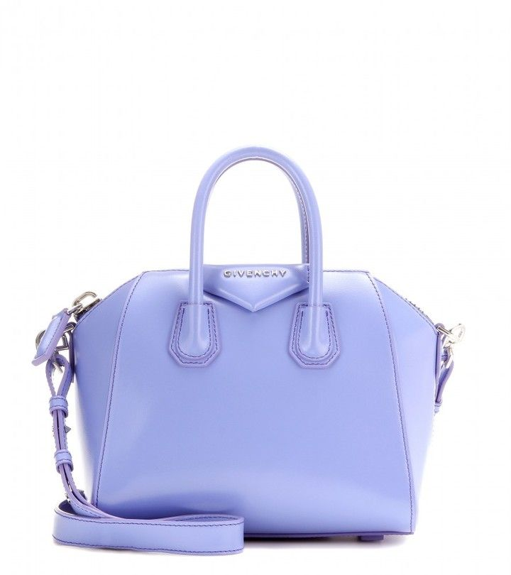 Givenchy Antigona Mini leather shoulder bag What a color, love this ... 0da14da962