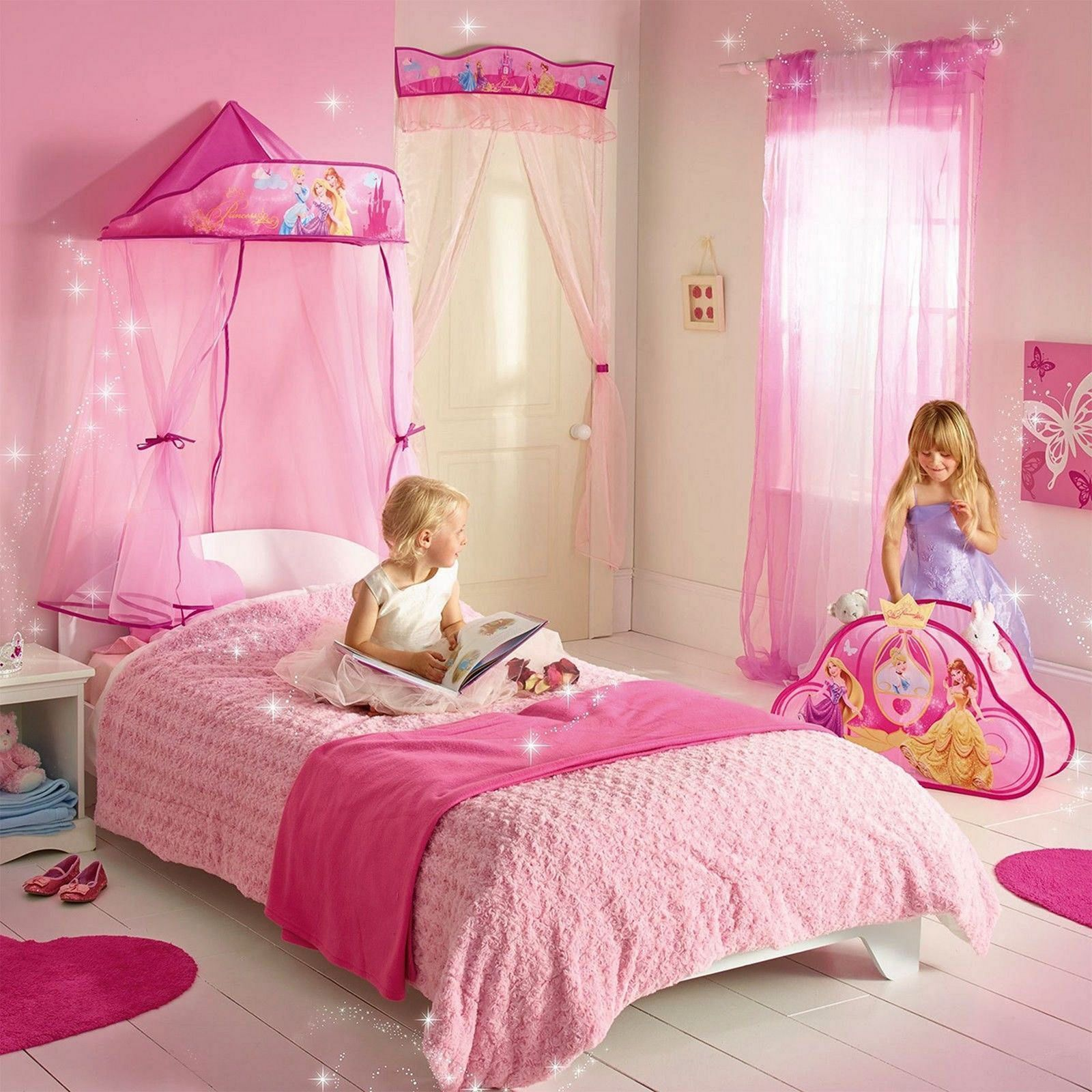 Sublime 12+ Beautiful Princess Bedroom Decorating Ideas For Your