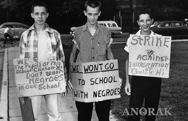 an argument against american segregation (1953) thurgood marshall, argument before the us supreme court in brown v on december 8, 1953 thurgood marshall ripples of hope great american civil rights speeches (new york: basic civitas books.