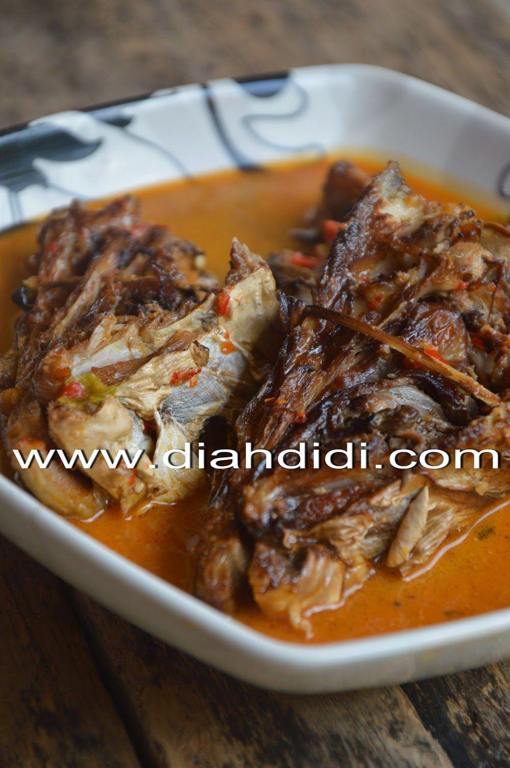 Diah Didi S Kitchen Kepala Ayam Goreng Gepuk Sambal Hejo Resep Ikan Makanan Resep Makanan