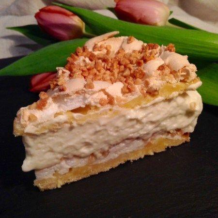 Rhabarbertorte Mit Baiser Aus Meinem Kuchen Und Tortenblog