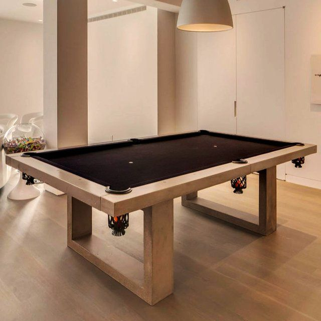 Pool Table Dining Room Table: Concrete Pool Table By James De Wulf