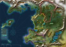 Unnamed fantasy world map by tensen01 fantasy pinterest unnamed fantasy world map by tensen01 gumiabroncs Choice Image