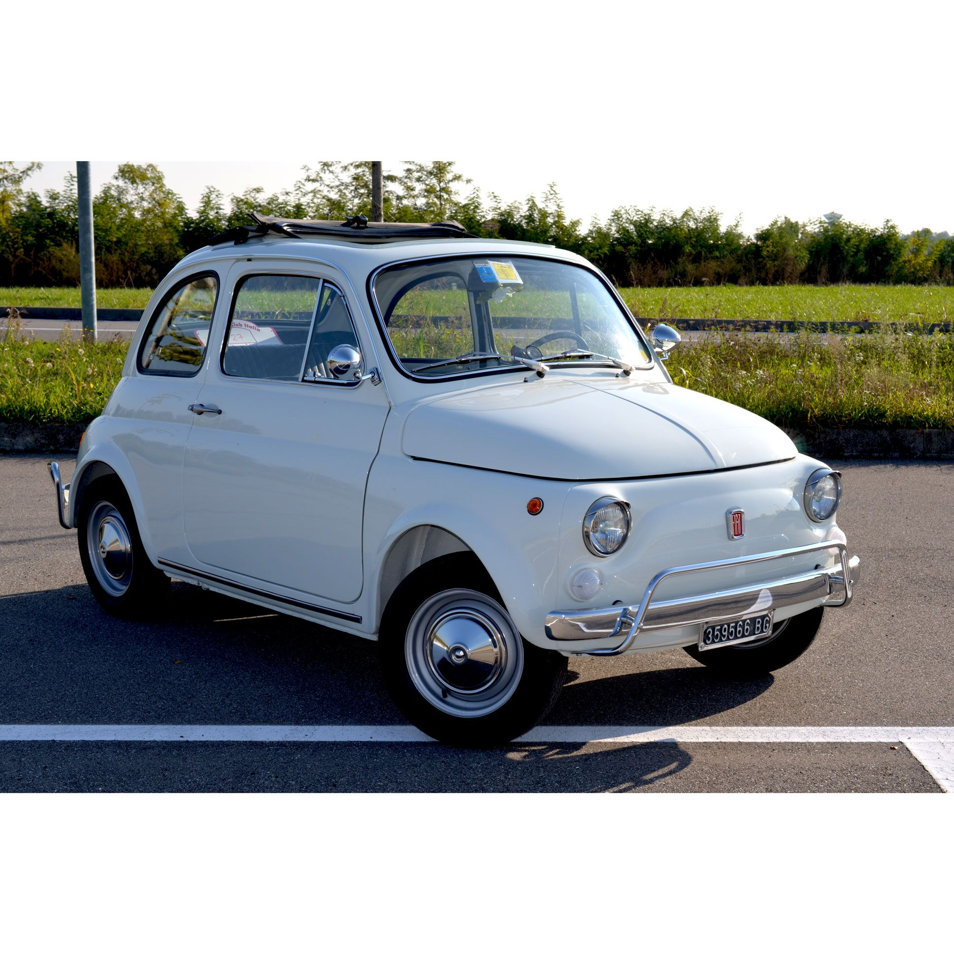 Fiat 500 L (1971) 100% Made In Italy !!! #fiat500