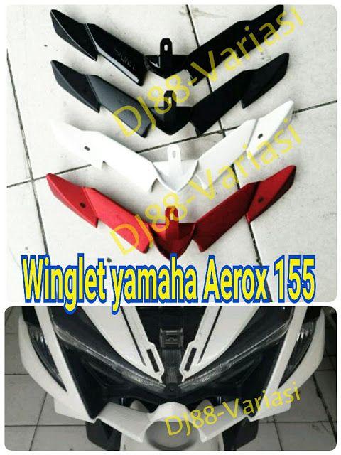 Sale Winglet Aerox 155 Plastik Abs Vnd Aksesoris Aerox 155 Variasi