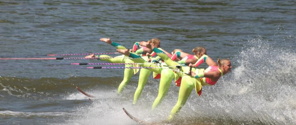 When it comes to water skiing, no one can beat the Little Crow Ski Team. Catch them perform at @willmarlakescvb