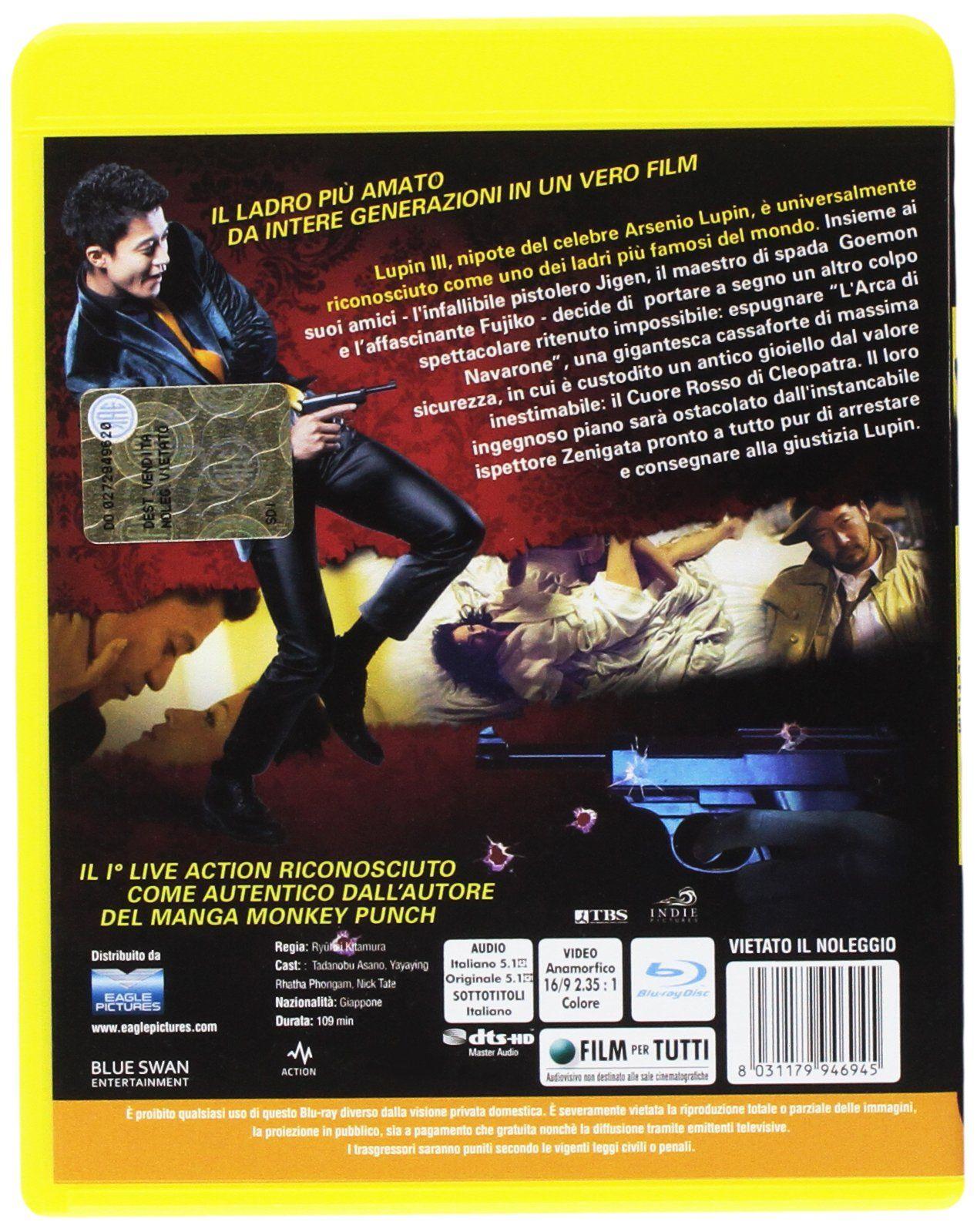Lupin Iii Il Film Blu Ray Il Iii Lupin Ray