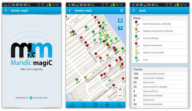 تنزيل برنامج Mandic Magic لاختراق شبكات Wifi للأندرويد Android Apps App Map
