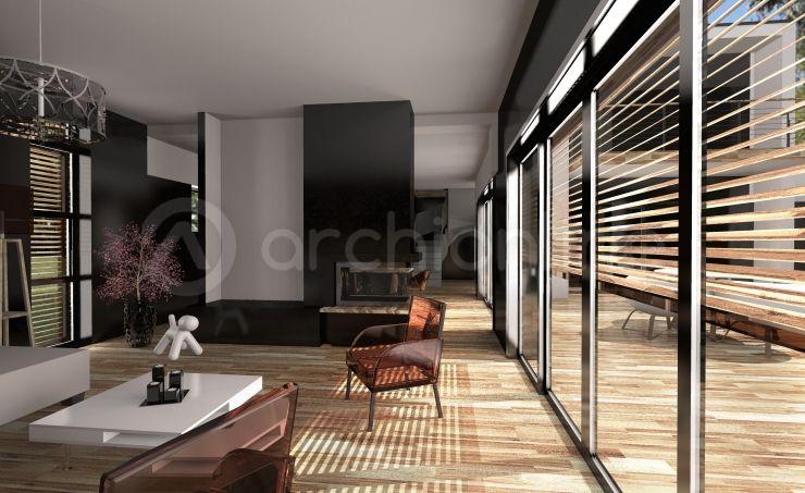 Maison Noé  une maison Moderne conçue par l\u0027architecte Jacques