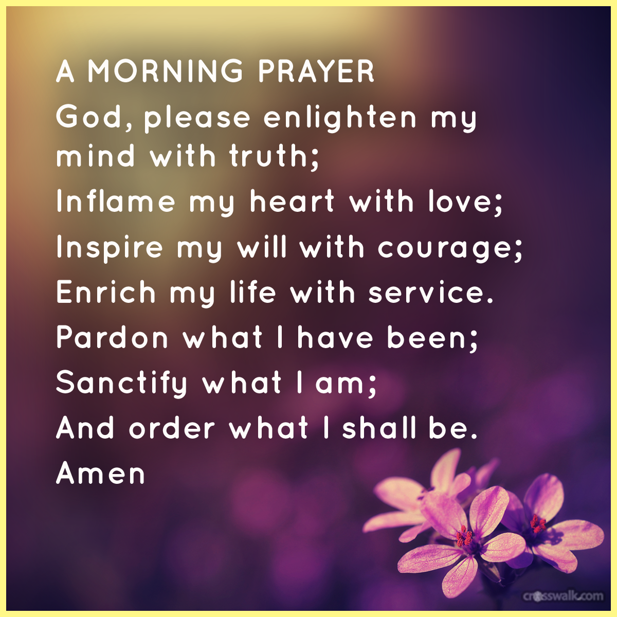 Images for good morning prayer for family and friends faith images for good morning prayer for family and friends altavistaventures Choice Image