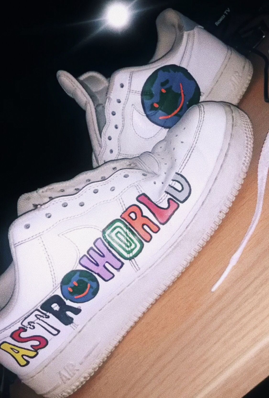 Astroworld Nike Air Force 1 | Custom Sneakers in 2019 | Air