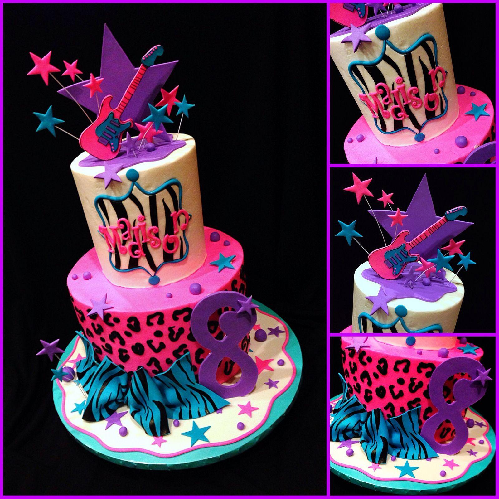 Prime Rockstar Cake Music Cakes Rock Star Cakes Cake Funny Birthday Cards Online Kookostrdamsfinfo