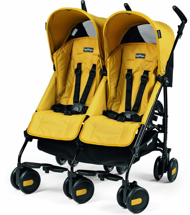 PegPerego Pliko Mini Double Lightweight Stroller Twin