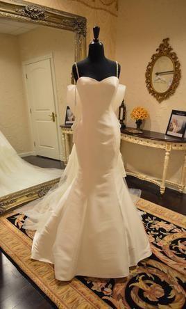 Elegant Badgley Mischka Taylor wedding dress currently for sale at off retail