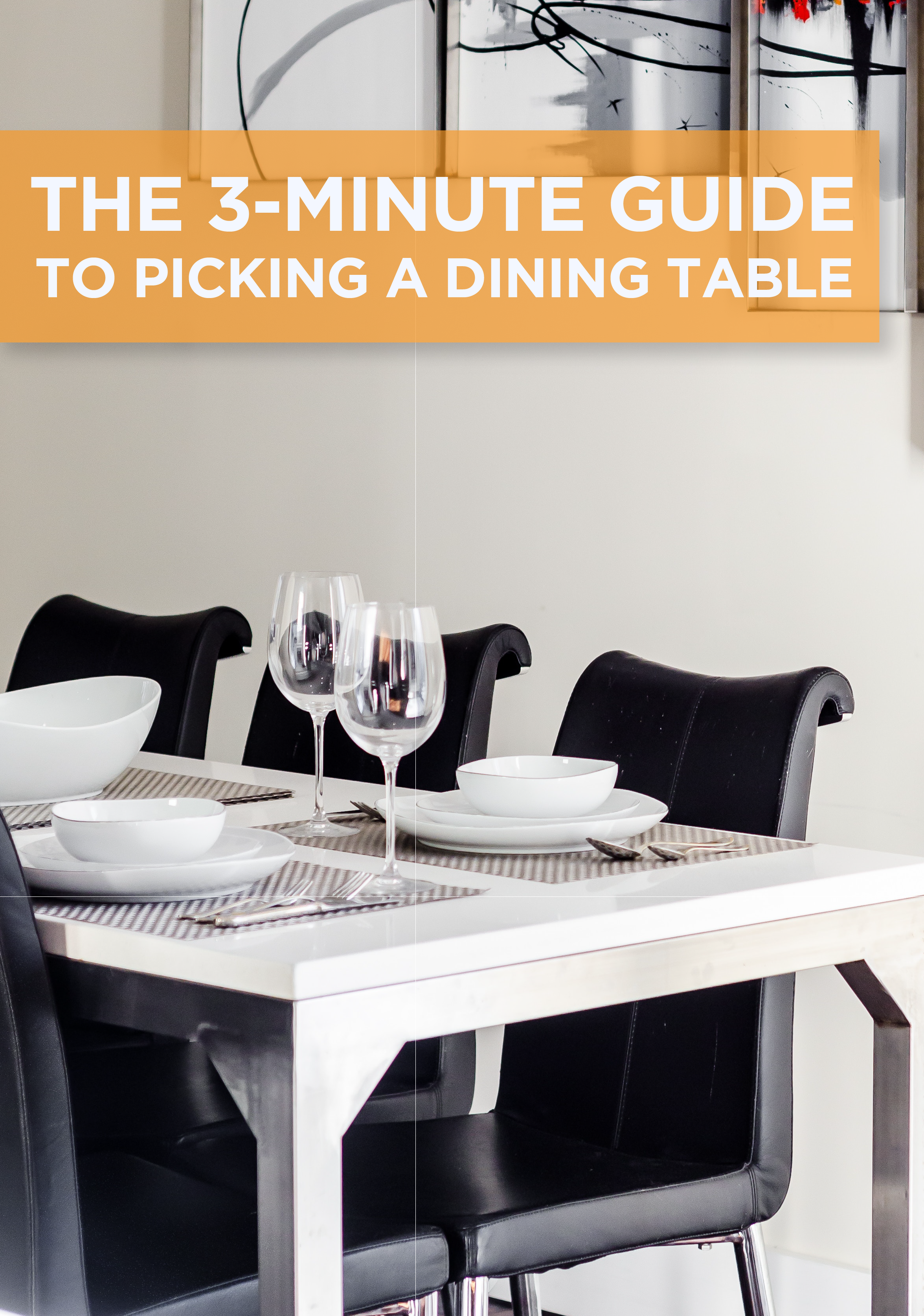 The 3 Minute Guide To Picking A Dining Table #Diningdesignideas #Furniture